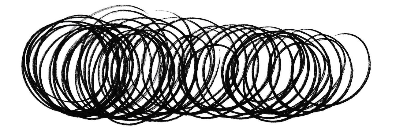 Calligraphy Drills - Smooth Circles