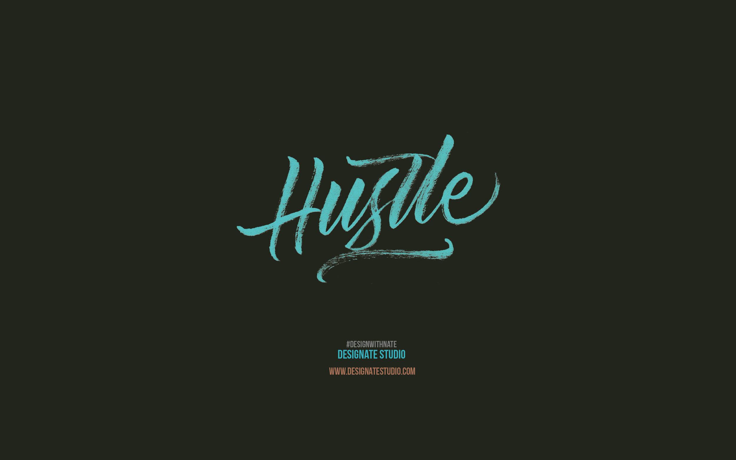 Hustle Wallpaper 2880x1800
