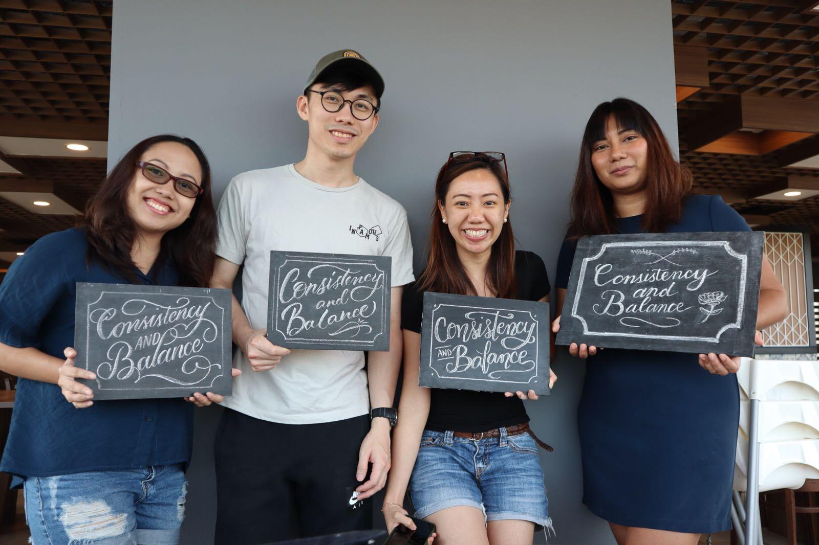 June 20, 2018 - Script Chalk Lettering Workshop