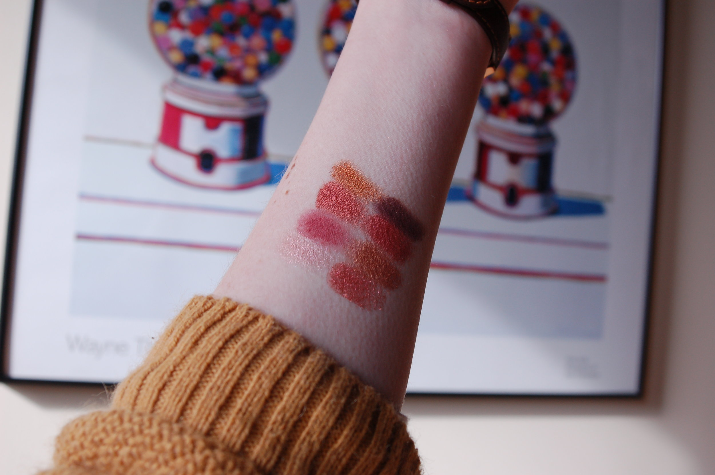 Get ready for a lot of 'Amour, Amour' swatches!