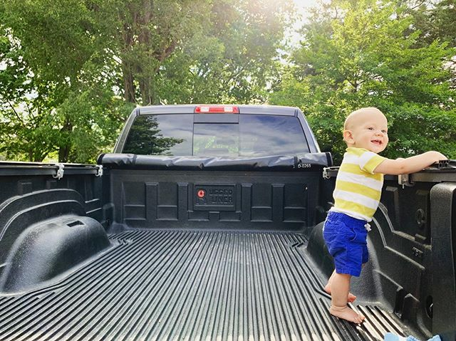 Boys and their pick-up trucks. 🤷🏼‍♀️