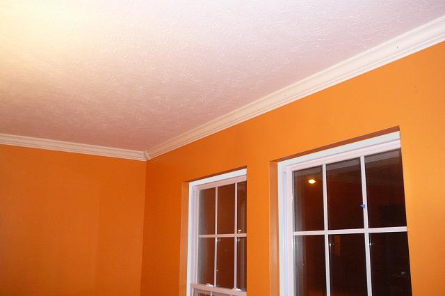 Interior - Paint and trim.