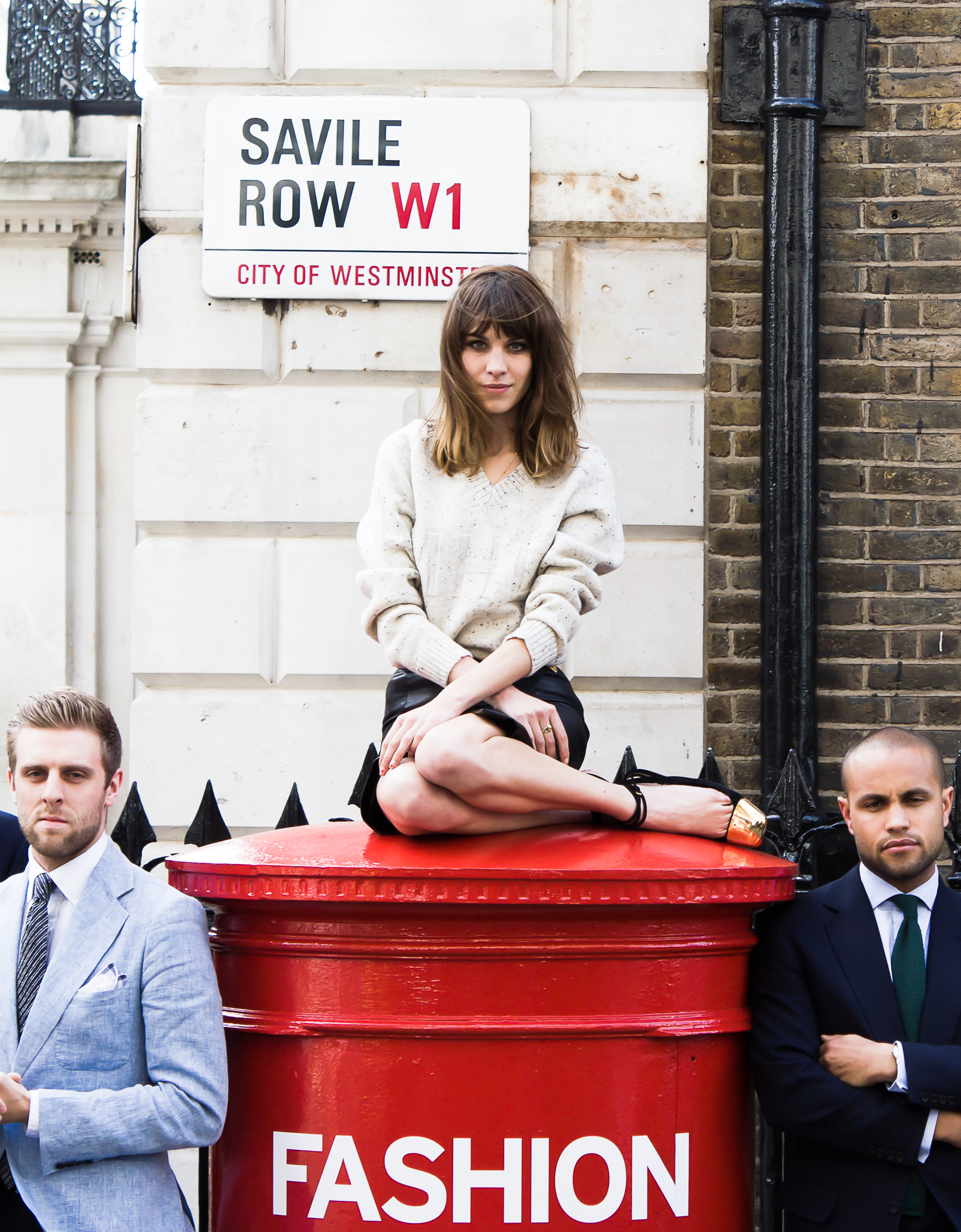 Alexa Chung, Kemara Pol, London Fashion Week, Editorial, Campaign, Lookbook,