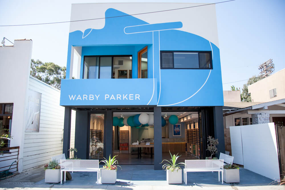 Warby Parker now has over 65 stores and approximately 50% of its business now comes from its stores -