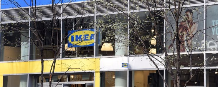 IKEA City Centre Store in Manhattan New York, credit: IKEA