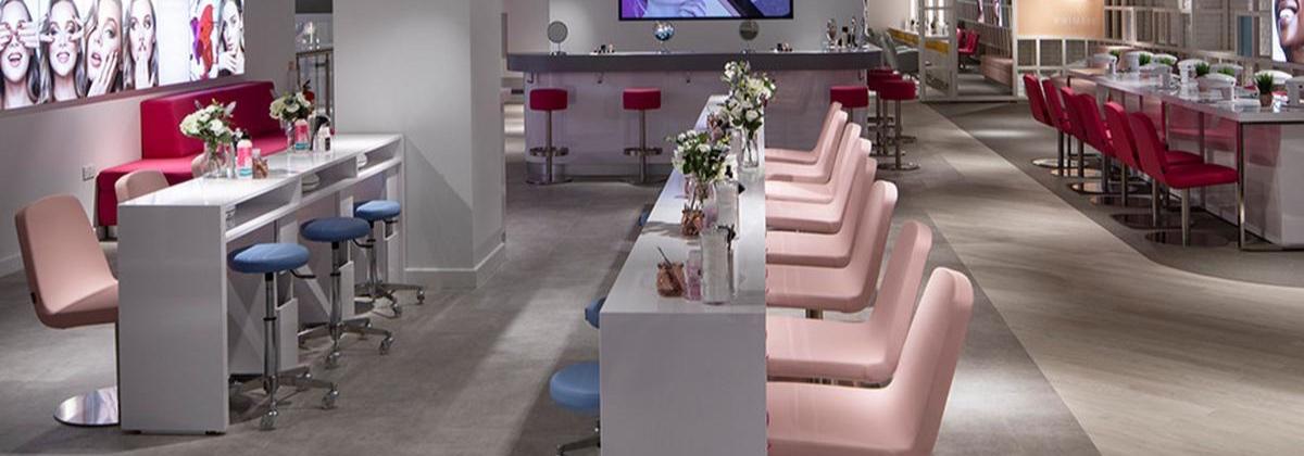 Primark's Beauty Studio in its Birmingham Store