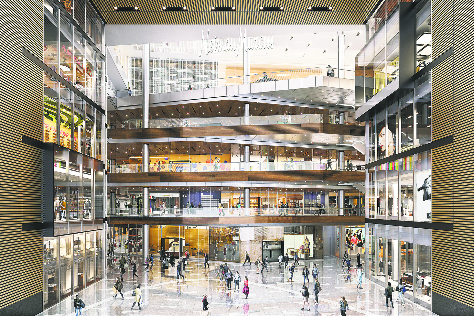 Shops and Restaurants at Hudson Yards Credit: Related