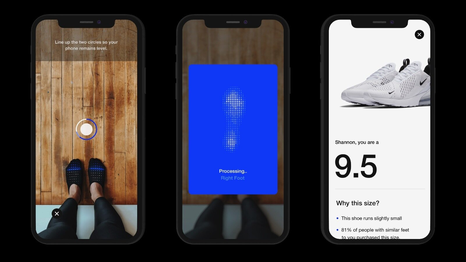 Nike's Augmented Reality Functionality in Its Mobile App