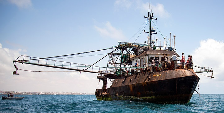 Pirate fishing vessel Greko 1