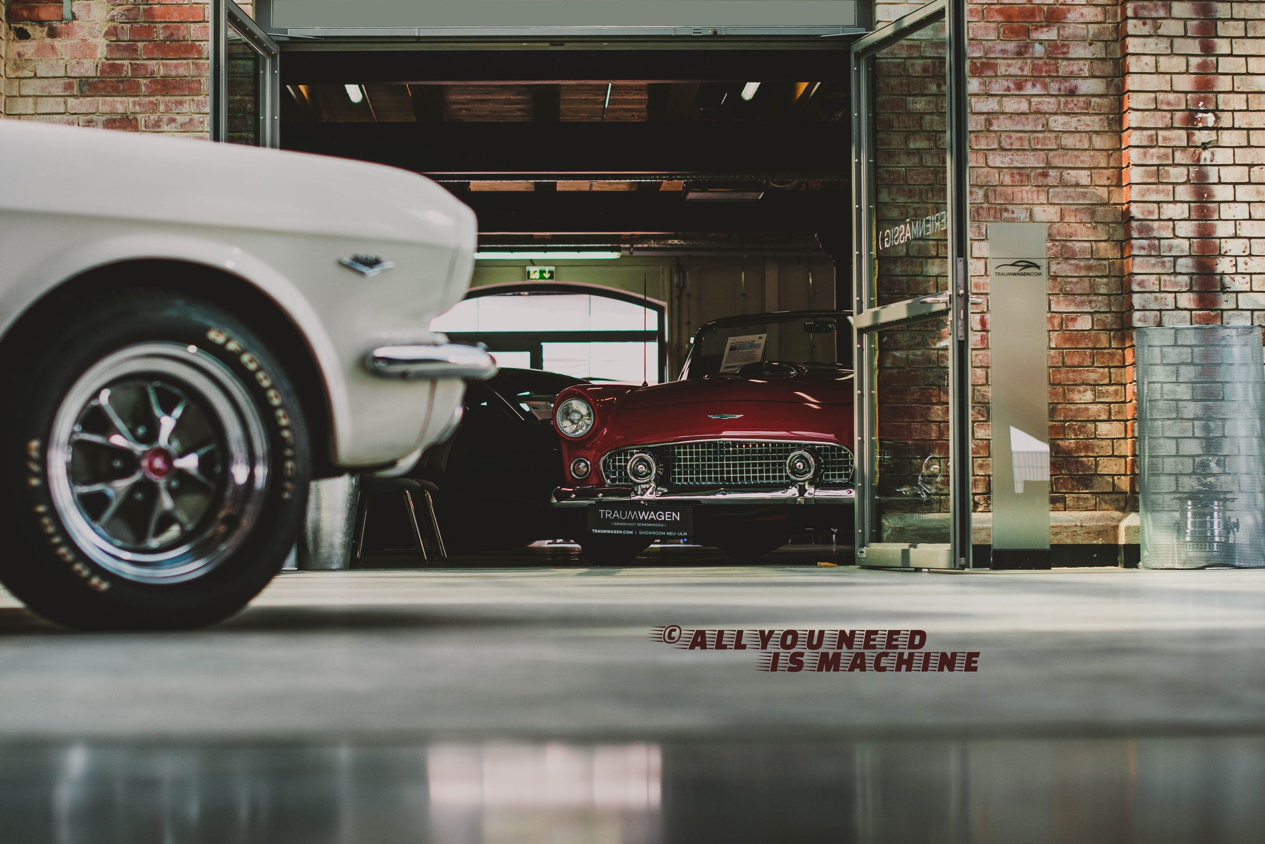 Ford Thunderbird '56 from Germany Neu-Ulm Oldtimerfabrik Classic Halle