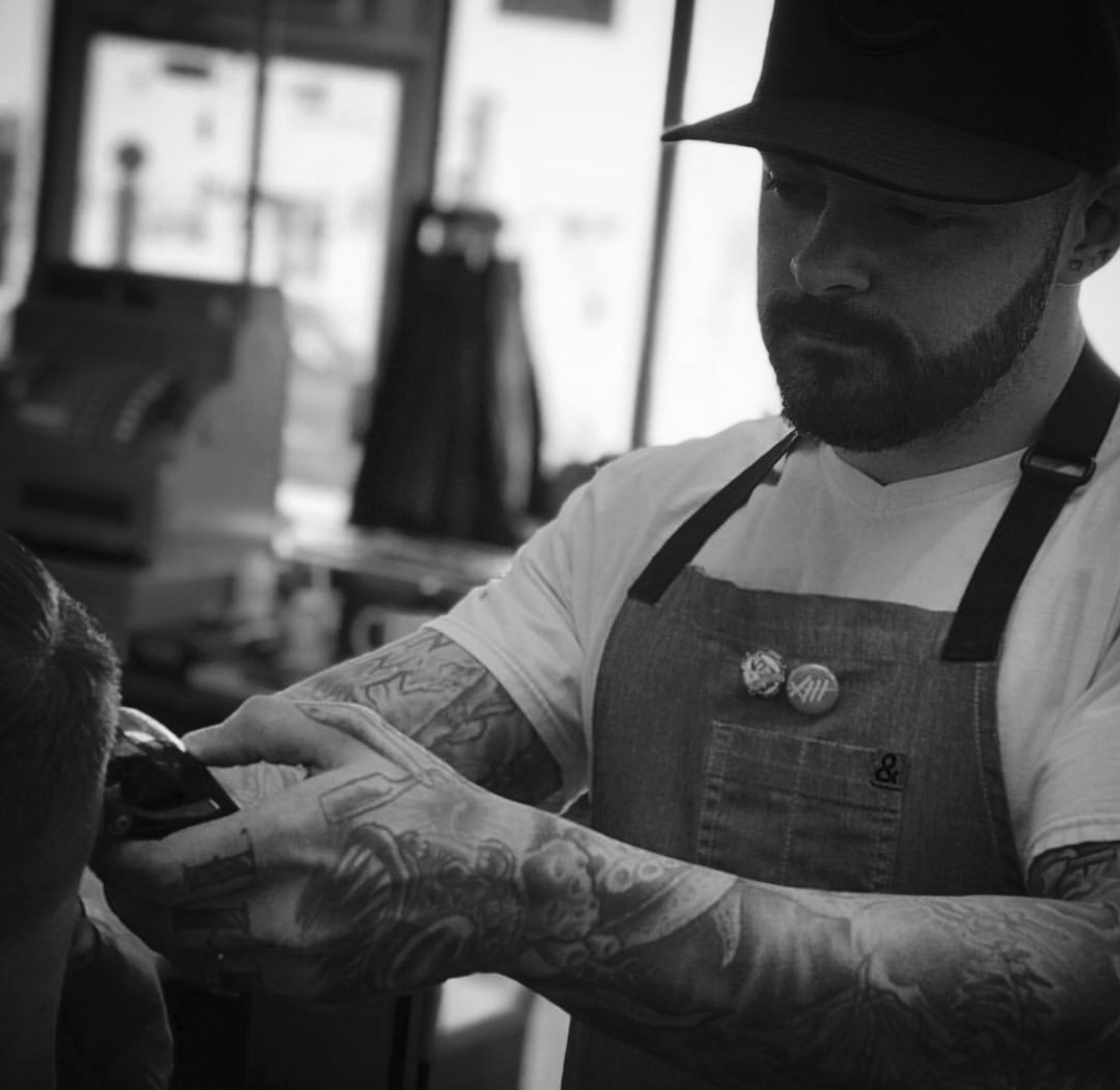 Andrew Stamm - Master Barber (Newport Shop Manager)Newport LocationMonday/Tuesday/Thursday-Saturay@stammdrewBOOK ANDREW
