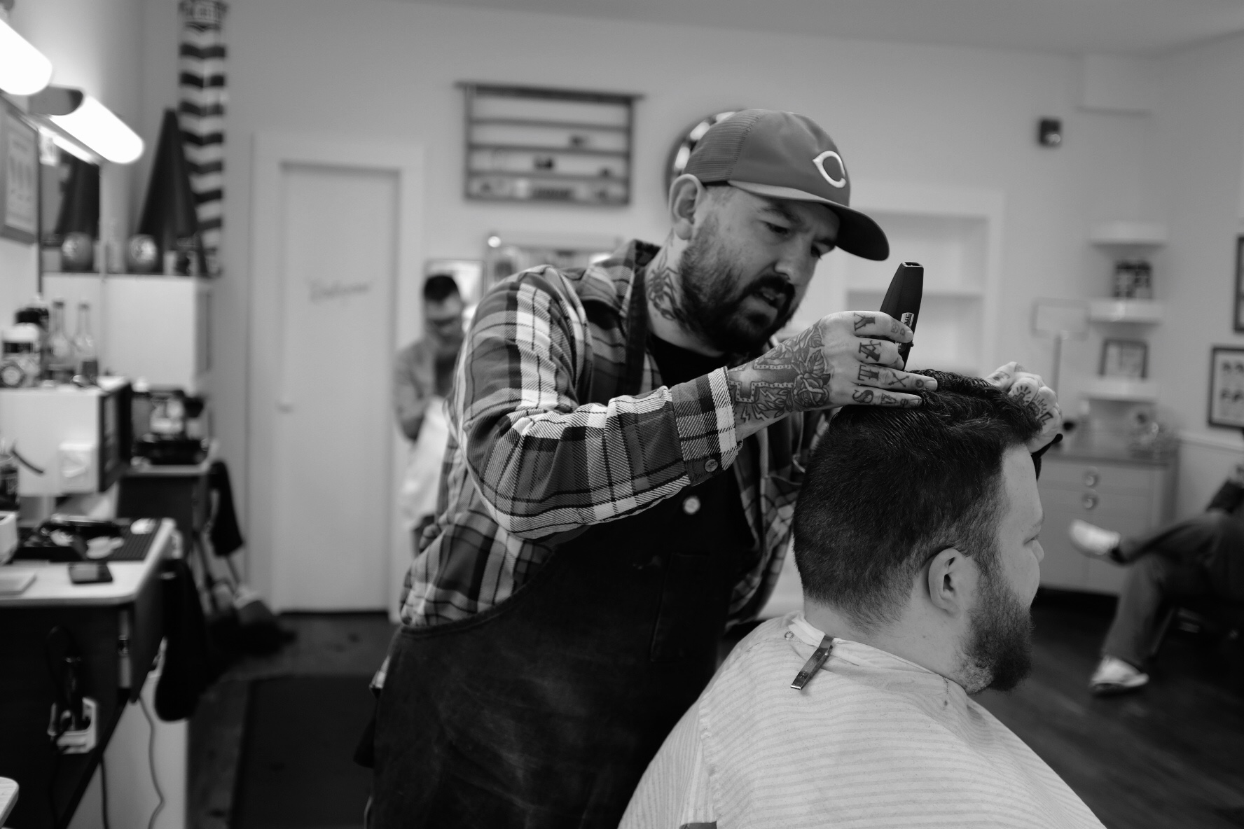 Mike Lathrop - Master BarberCovington LocationTuesday- SaturdayIG: @honkymikeBOOK MIKE