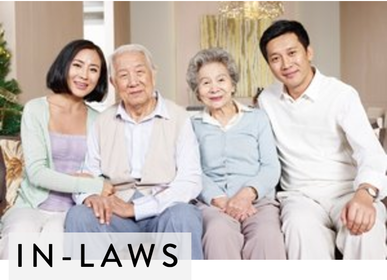 Practically Married : In-Laws