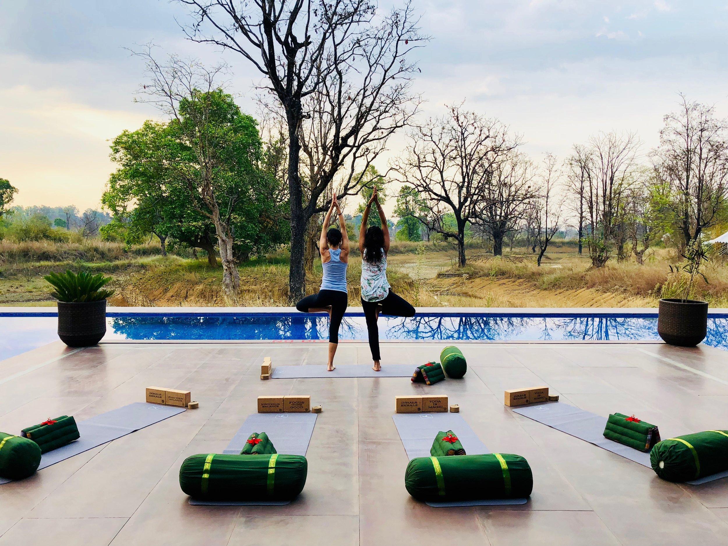 Yoga and Safari Retreat India Heena 2