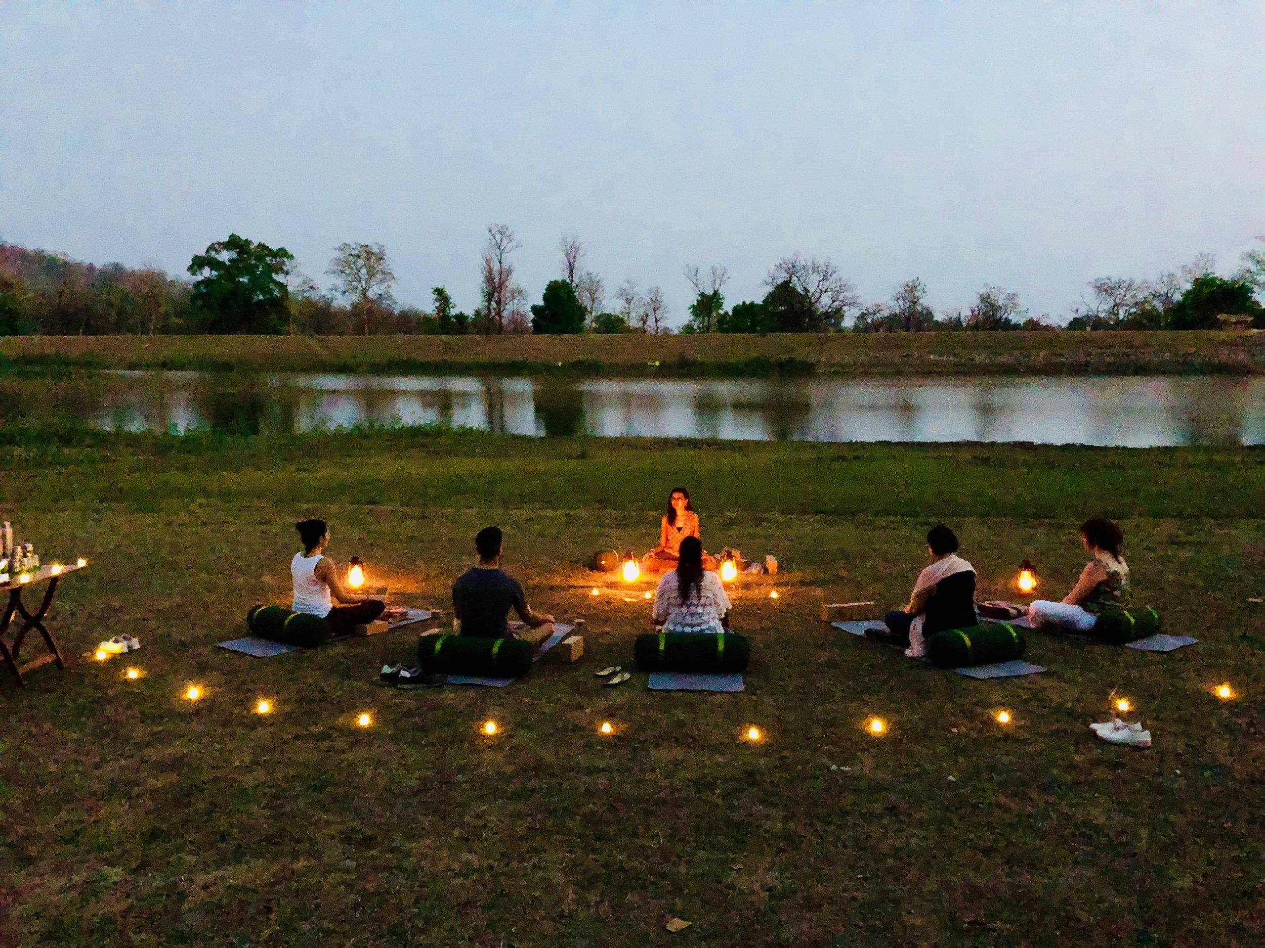 Yoga and Safari Retreat India Heena 3