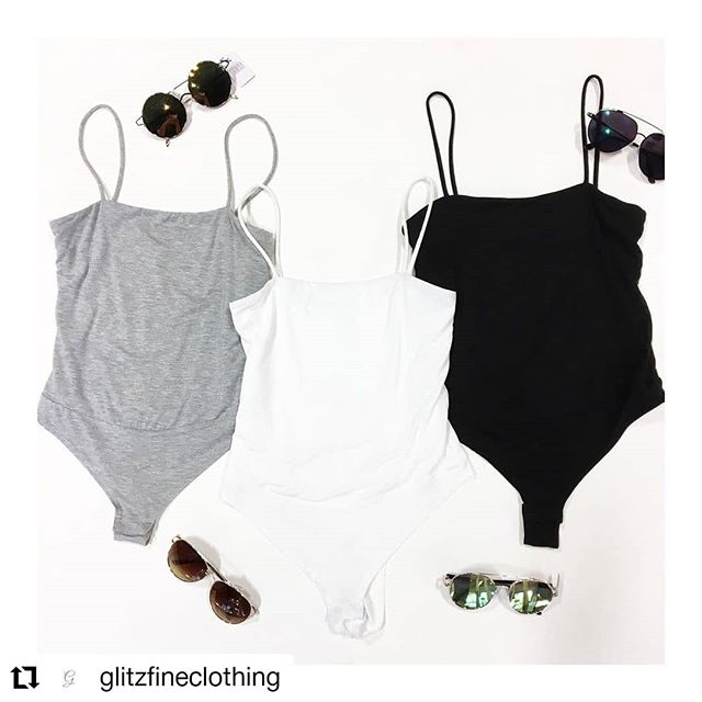 #Repost @glitzfineclothing • • • • • • NEW - BODYSUITS