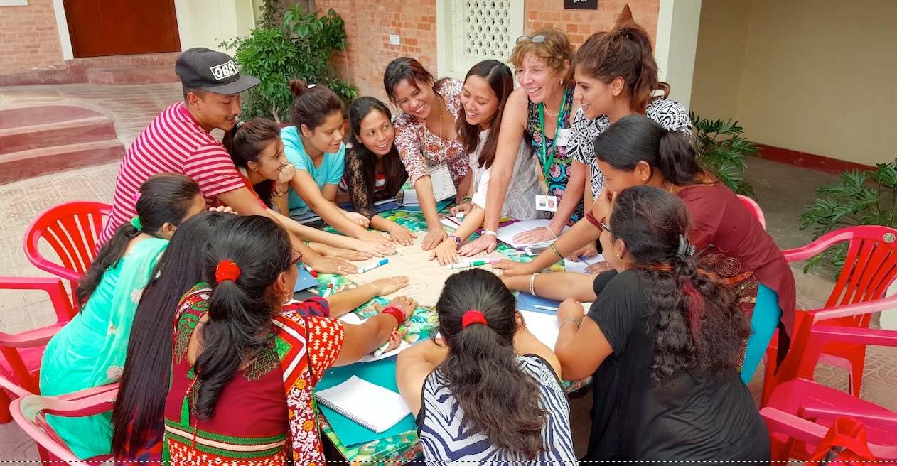 CRM Teacher Training, Kathmandu, Nepal (2016).