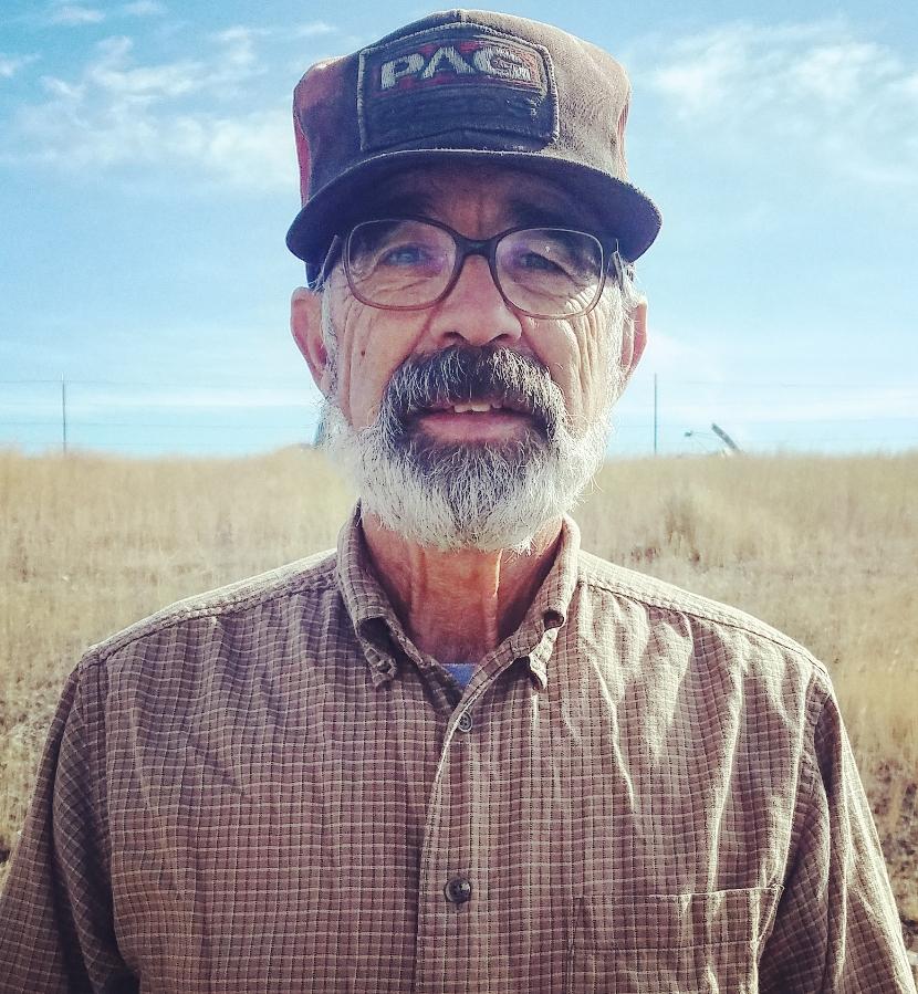 Dewayne Schwendiman. Long time Stangel Buffalo Ranch employee.