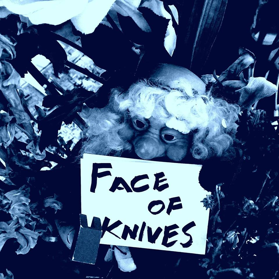 Face of Knives - Face of Knives Productions is a group dedicated to promoting inclusive, safer shows in Atlanta for touring DIY musicians, performers, and artists. While they work with genres across the board they have a soft spot for Punk, Hardcore, Metal, Grindcore, Powerviolence, and Experimental acts.