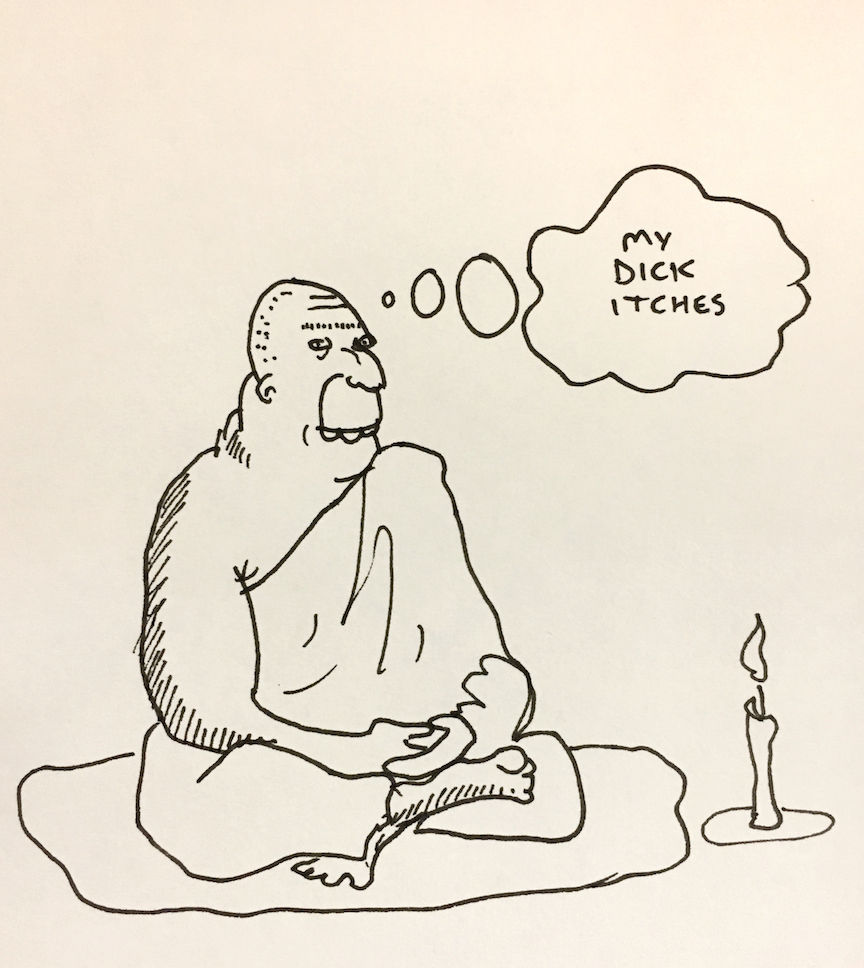 """""""Silence - a monk maybe"""""""
