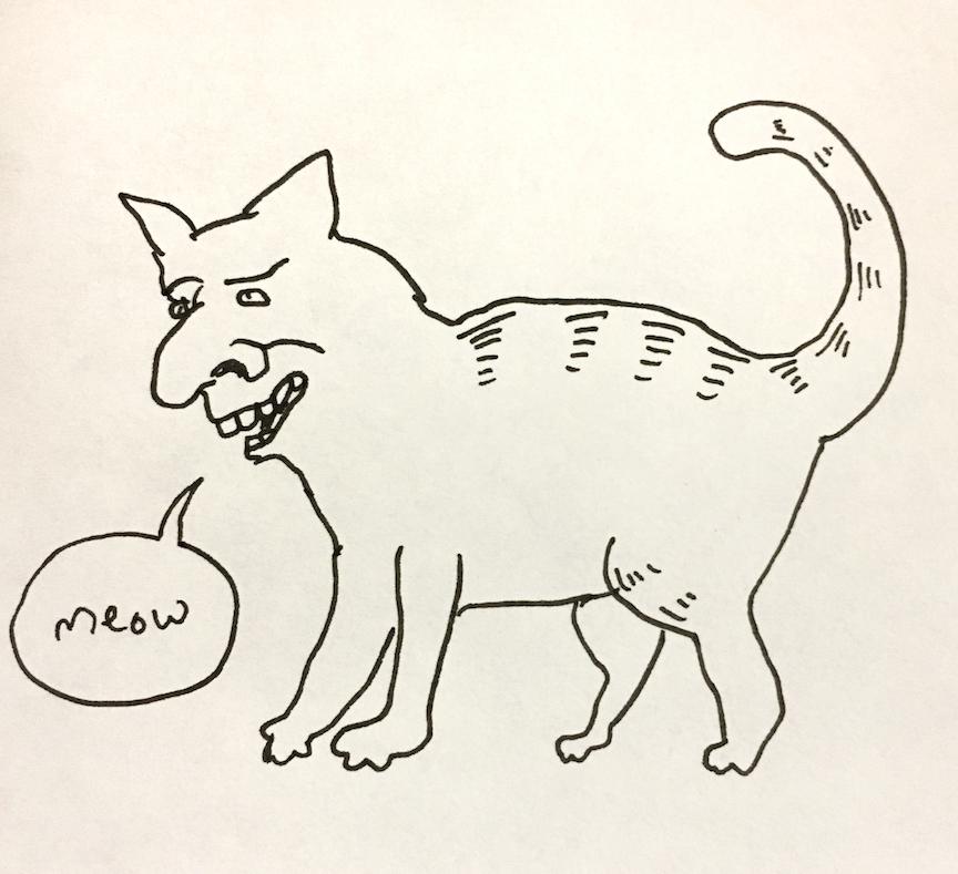 """""""A cat"""""""