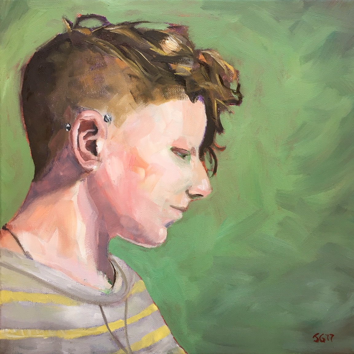 - I absolutely love portraiture, and strive to capture the spark of individuality with expressive paint handling and a distinctive personal touch. Size, pricing and shipping will vary according to your project; expect to invest at least $500—$800.Email me at info@joshgatesart.com and let's get something started!