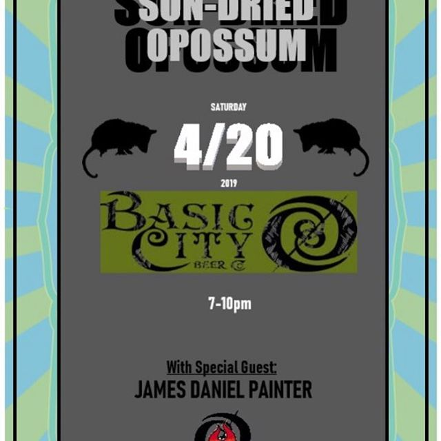 4/20 at @basiccitybeer y'all