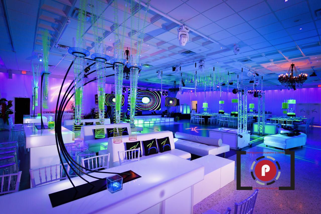 Lavan Venue Fort Lauderdale: Zack's Neon Bar Mitzvah