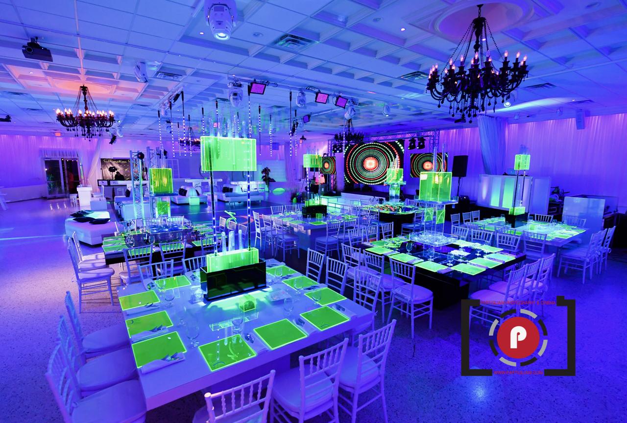 Extreme Neon Safari Bar Mitzvah at Lavan Venue