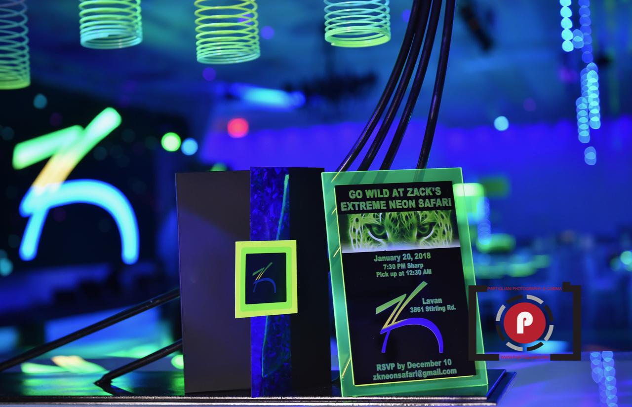 Zack's Extreme Neon Safari