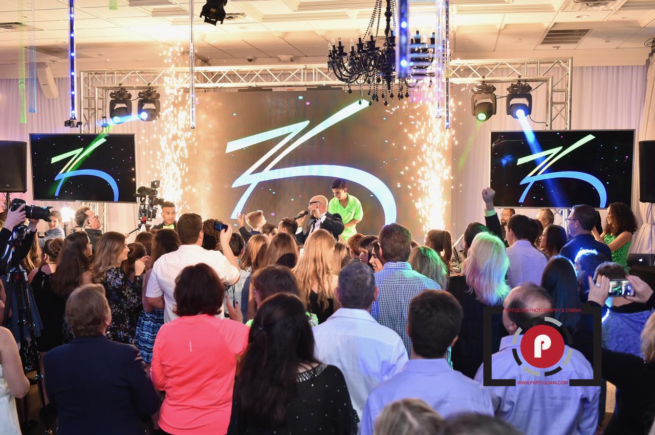Zack on stage at Lavan Venue Fort Lauderdale - Hollywood!