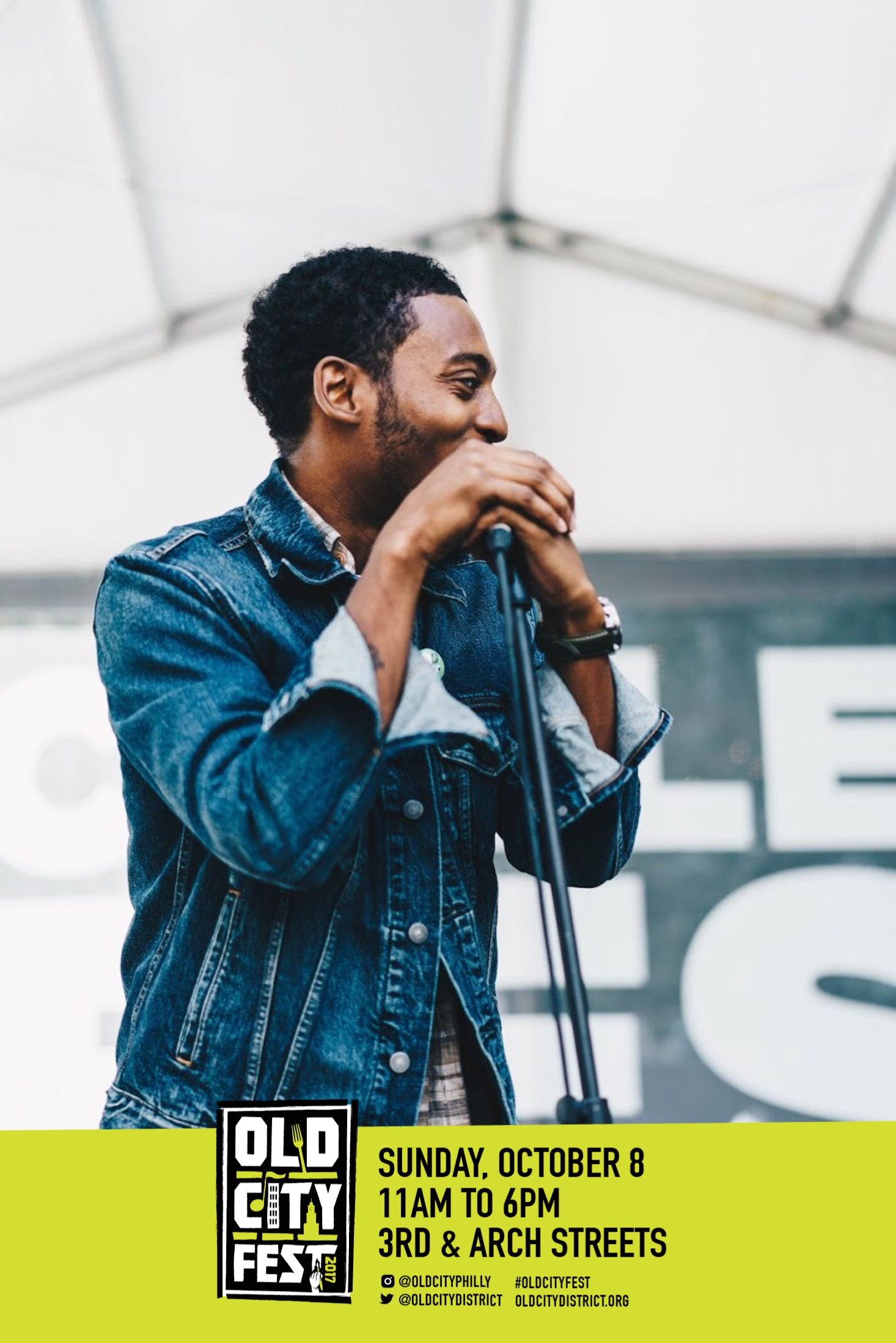 Sunday 10-08-17 2:30pm Old City Music Festival 3rd & ArchFREE -