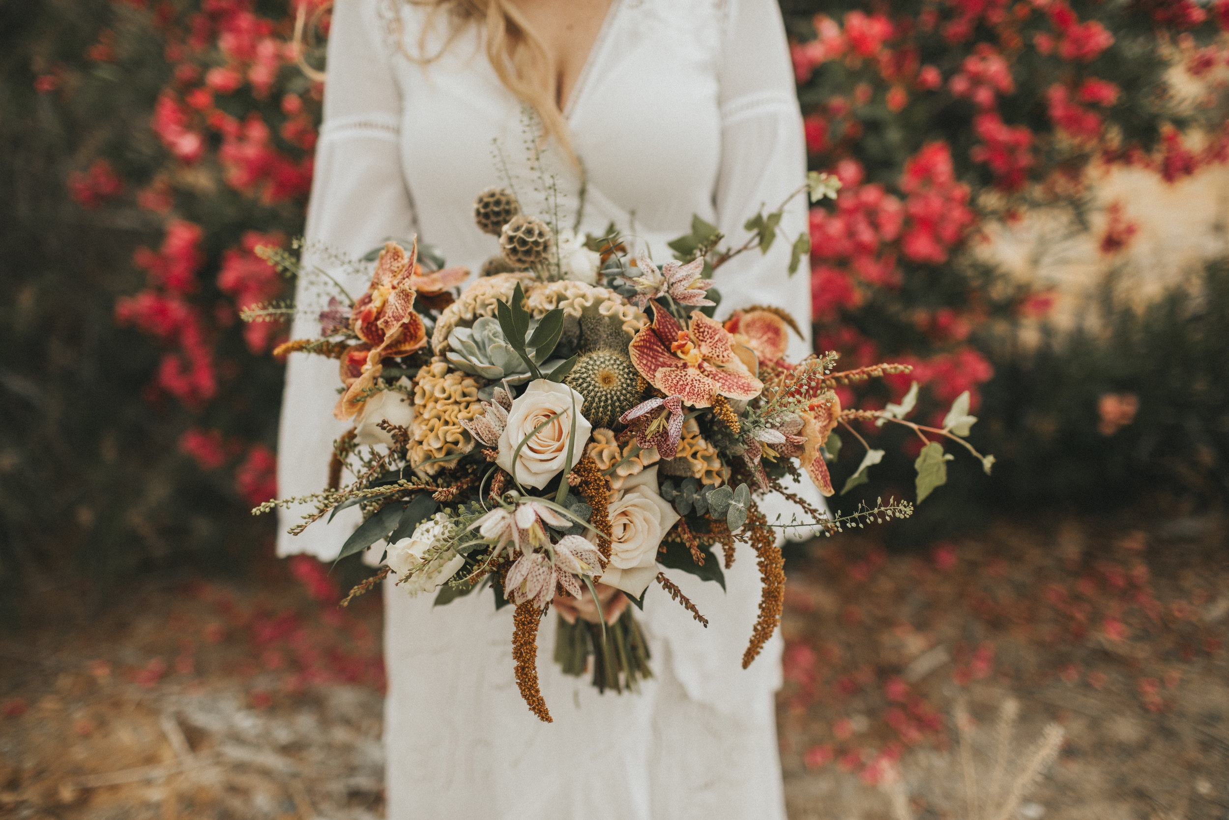 Vaso Bello bouquet photographed by  Tree Of Life Films