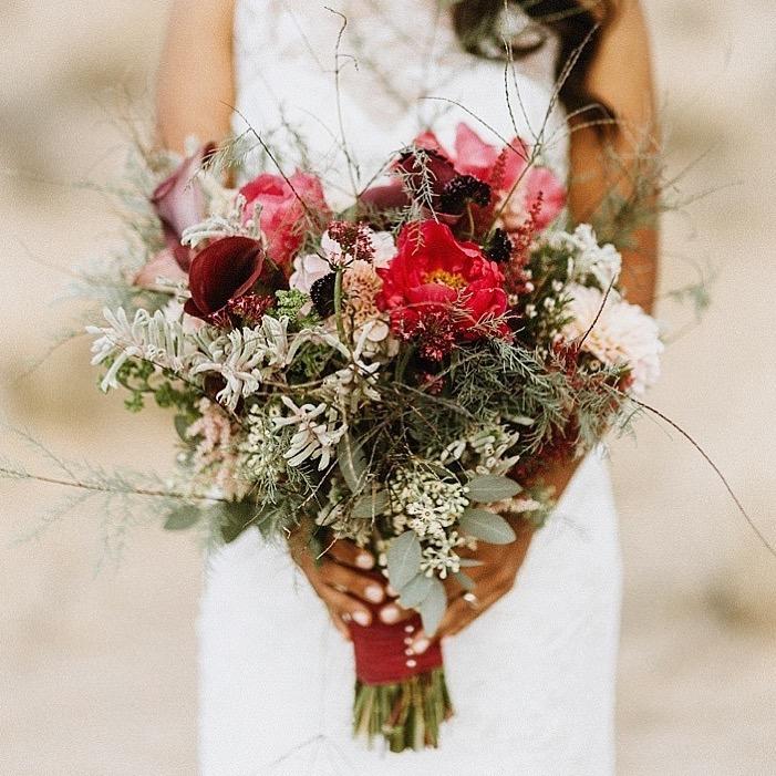 Vaso Bello bouquet photographed by  Violet Short Photography