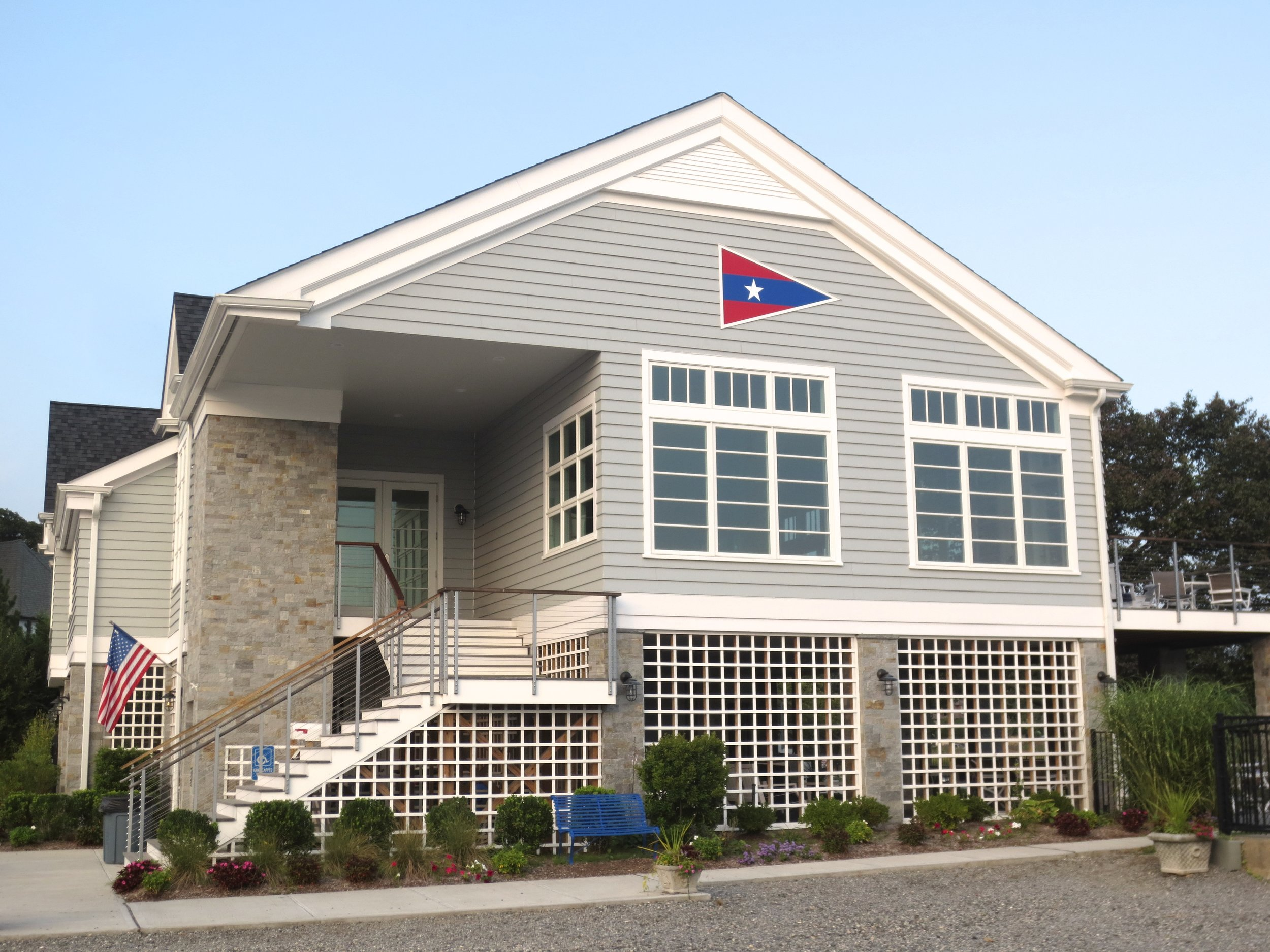 Newly renovated SAPC clubhouse
