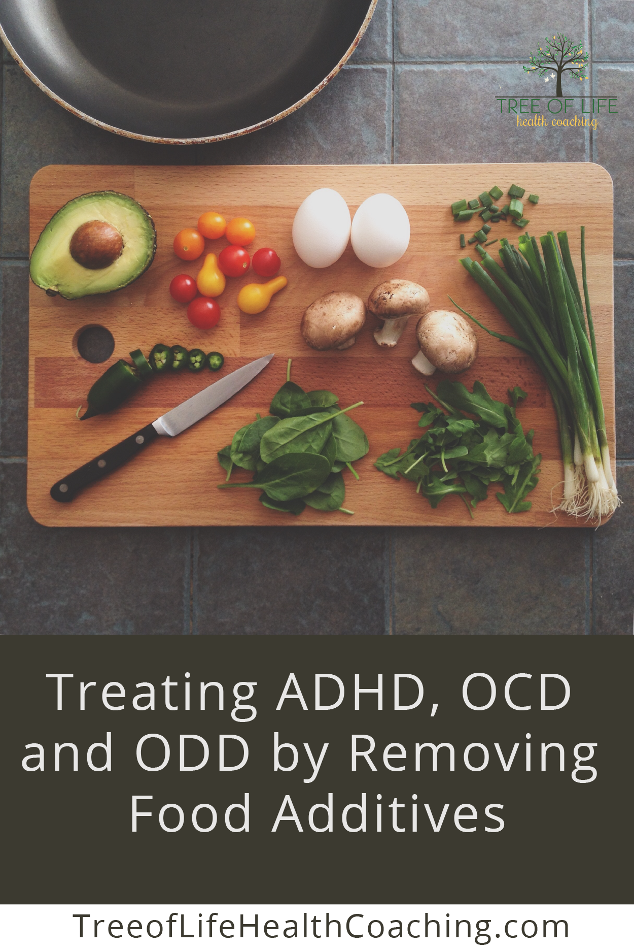Treating ADHD, OCD and ODD by Removing Food Additives