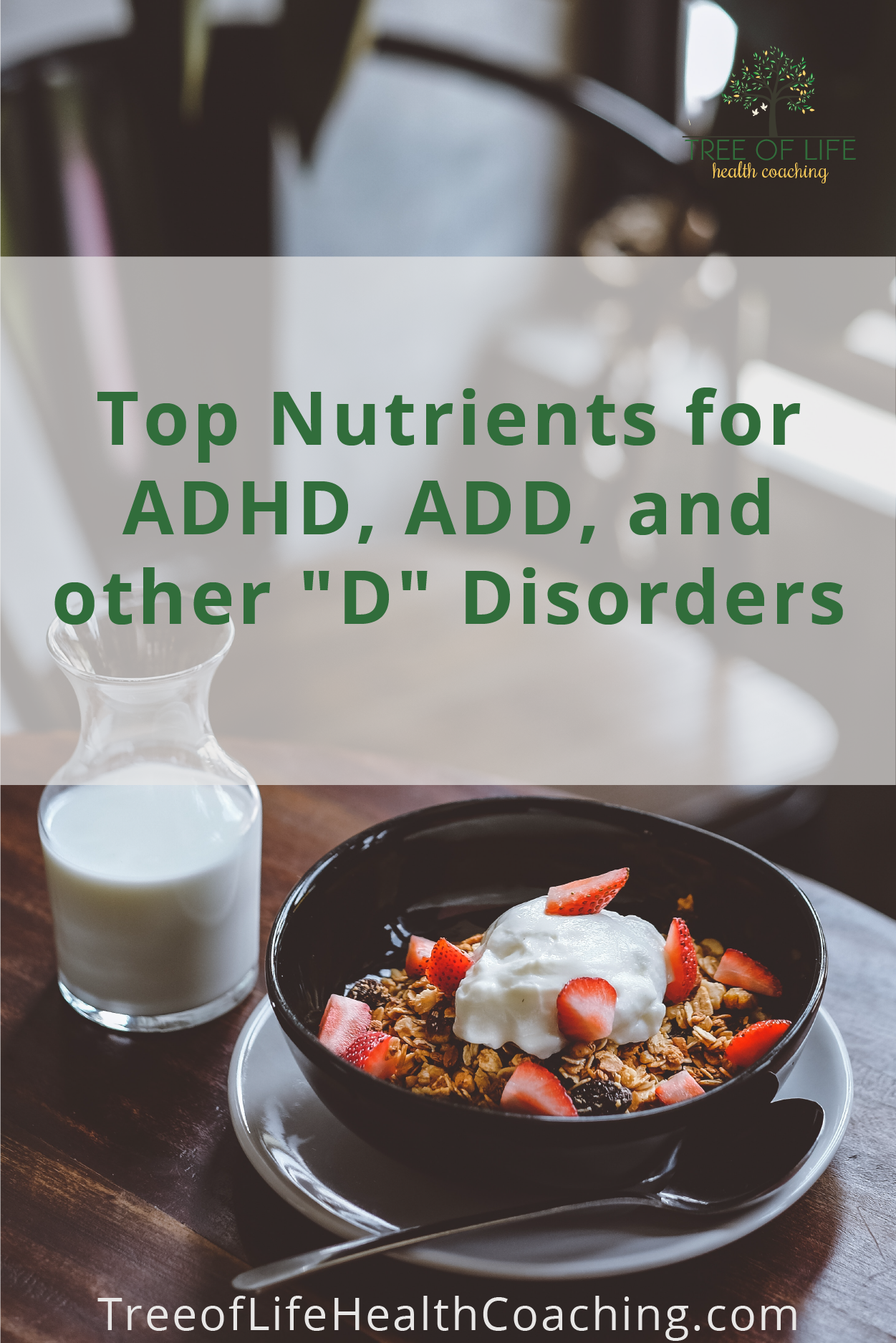 Supplements for ADHD