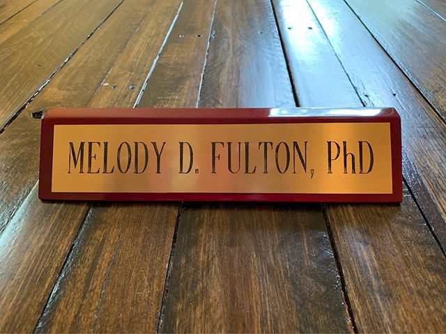 A desk wedge is a great gift for a graduate.