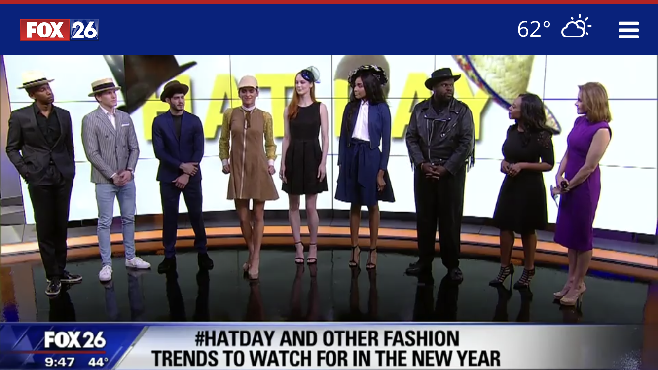 Hat and fashion trends to watch out for in the New Year - FOX 26 NEWS HOUSTON | JAN 2019