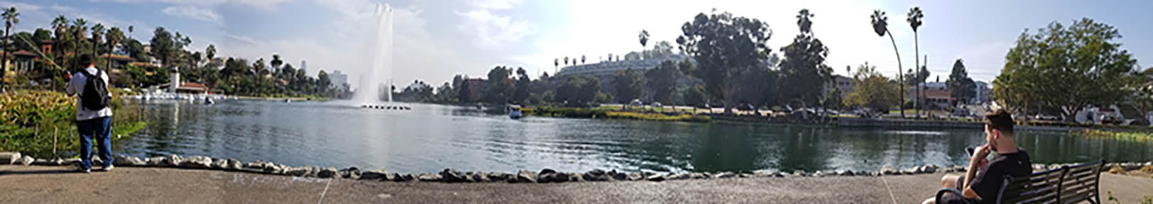 Echo Park, Photo by Richard Loranger