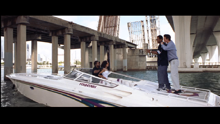 Ice Cube - Boat chase with a Fountain and a Cigarette