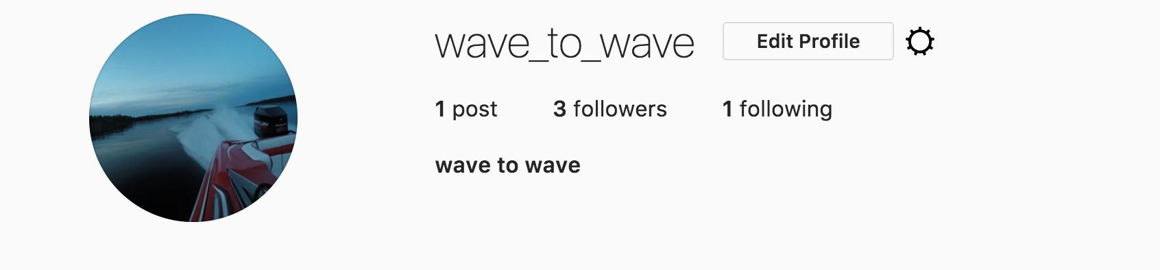 Wave to Wave Instagram