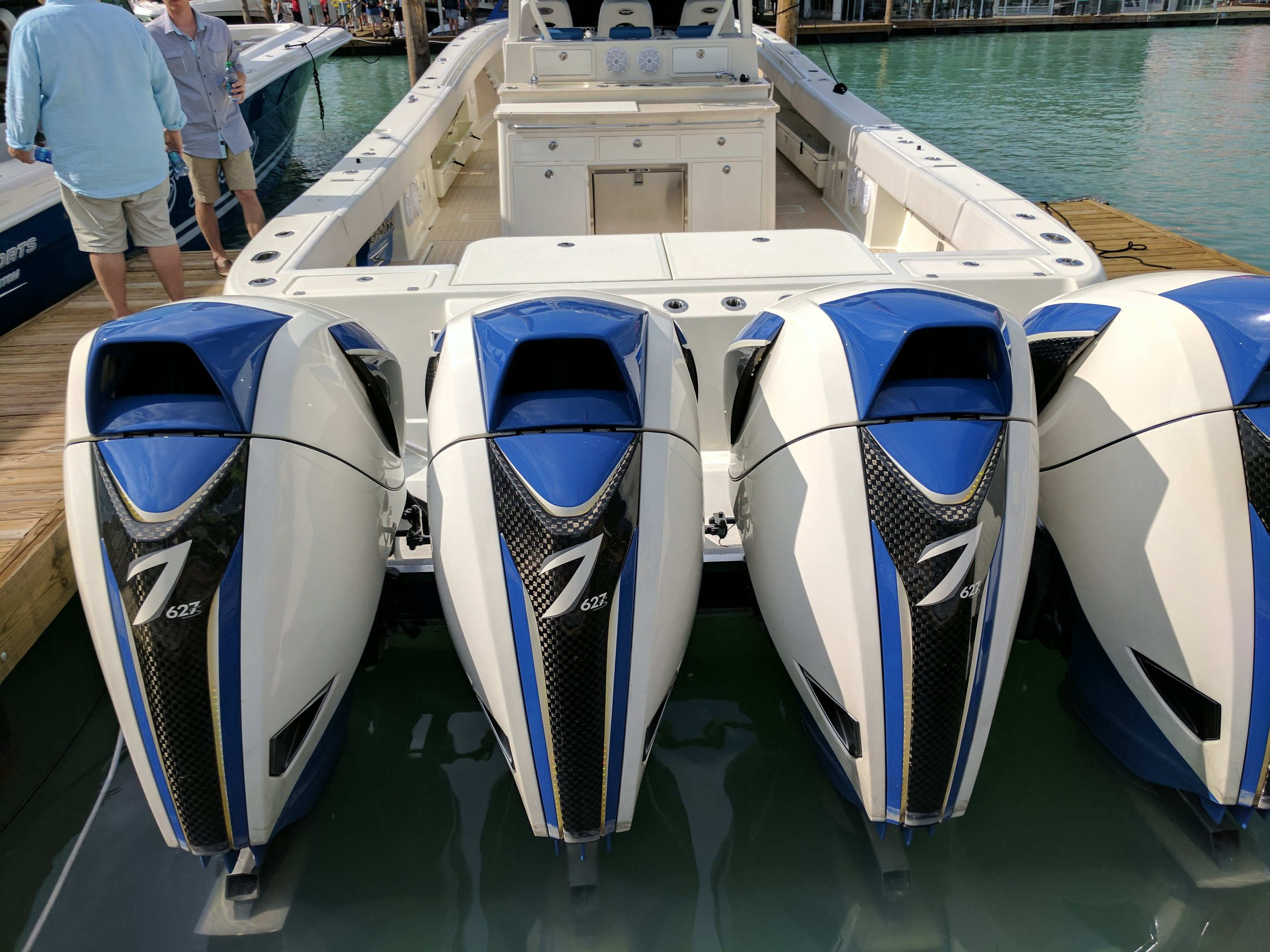 Silly, just silly. Beautiful design and incredible engineering from Seven Marine