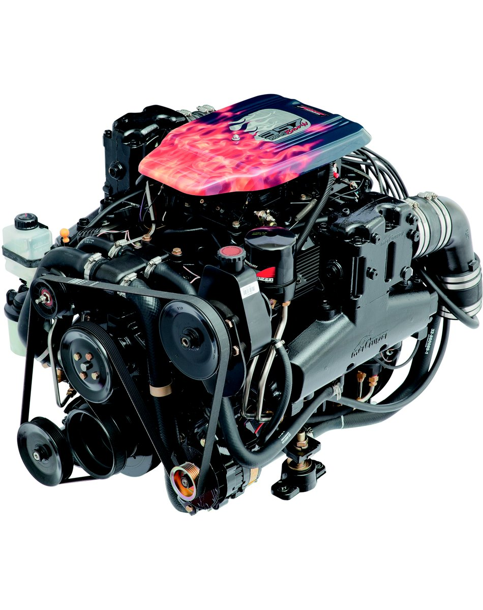 Mercury - From the 320 HP 357 MAG 4V and 383 stroker to the 540 Mag, it is hard to beat remanufactured engines from Mercury.