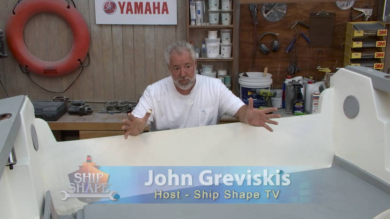 John Greviskis - The great host of Ship Shape TV. A fun and technical show for all boaters.