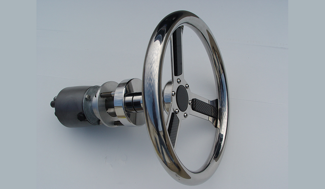 A beautiful custom wheel from Zeiger, if you're getting a new system, why not get a wheel too.