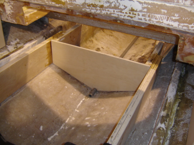 Solid - New bulkheads, stringers and transom set the foundation for the complete restoration.