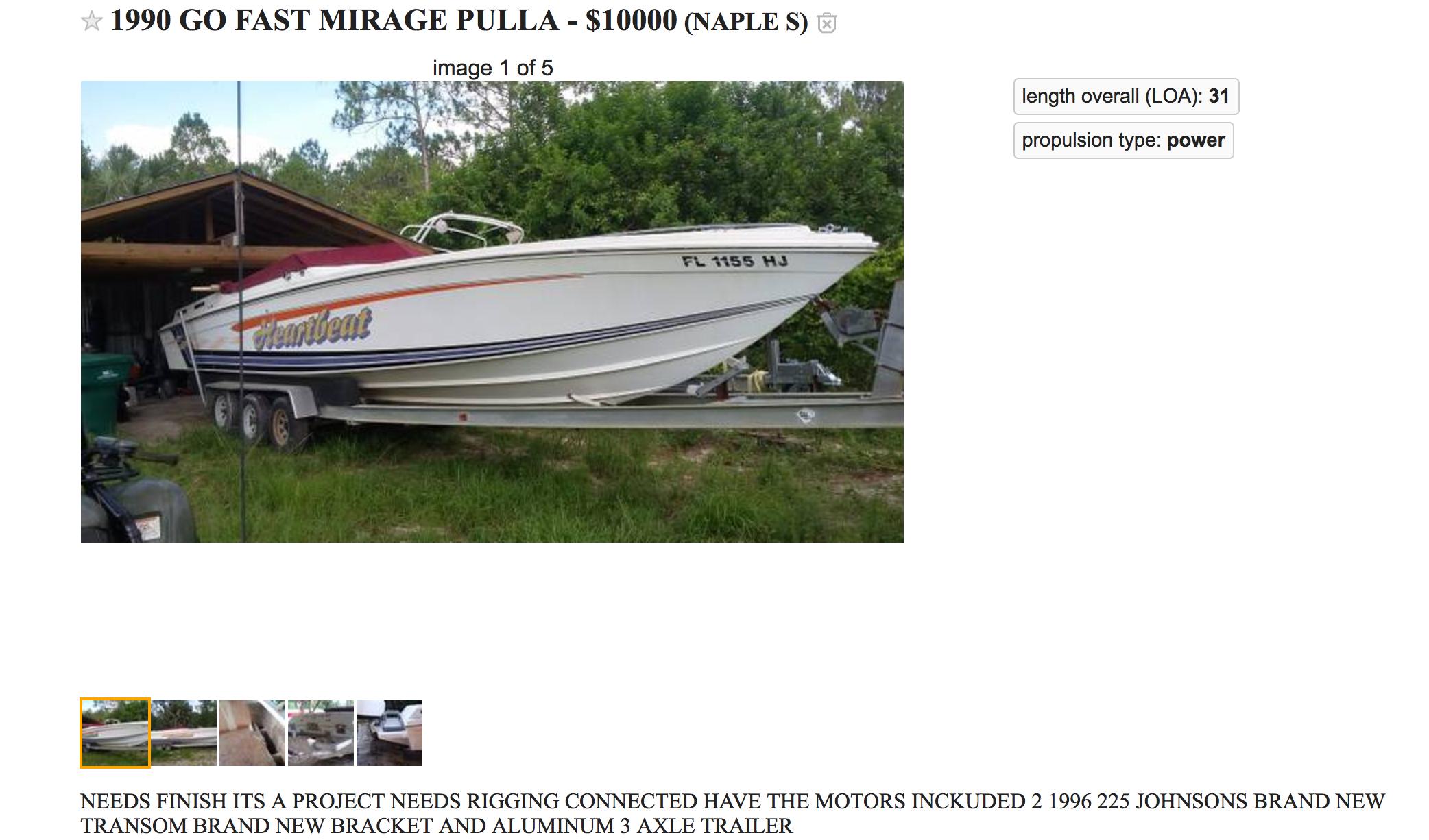 32 Mirage Offshore