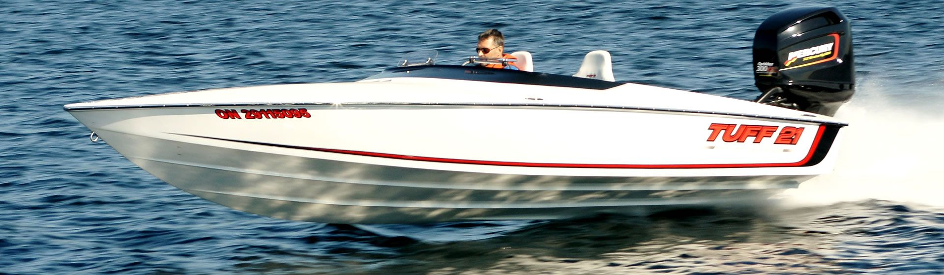 Light - Light builds allow the efficient hull to surpass 100 MPH with 300 HP.
