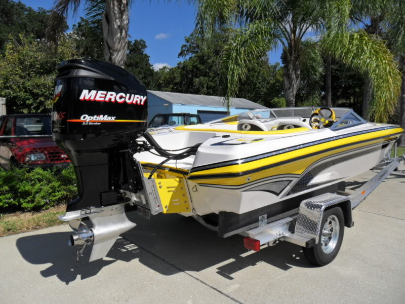 Family - A good family sport boat that can handle a 300, if set up properly can get close to 100 MPH.